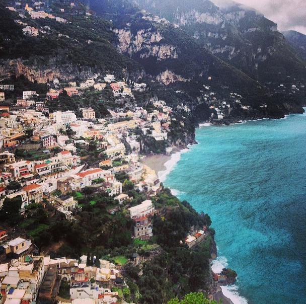Spent a day in Positano...the most beautiful place we've ever seen!