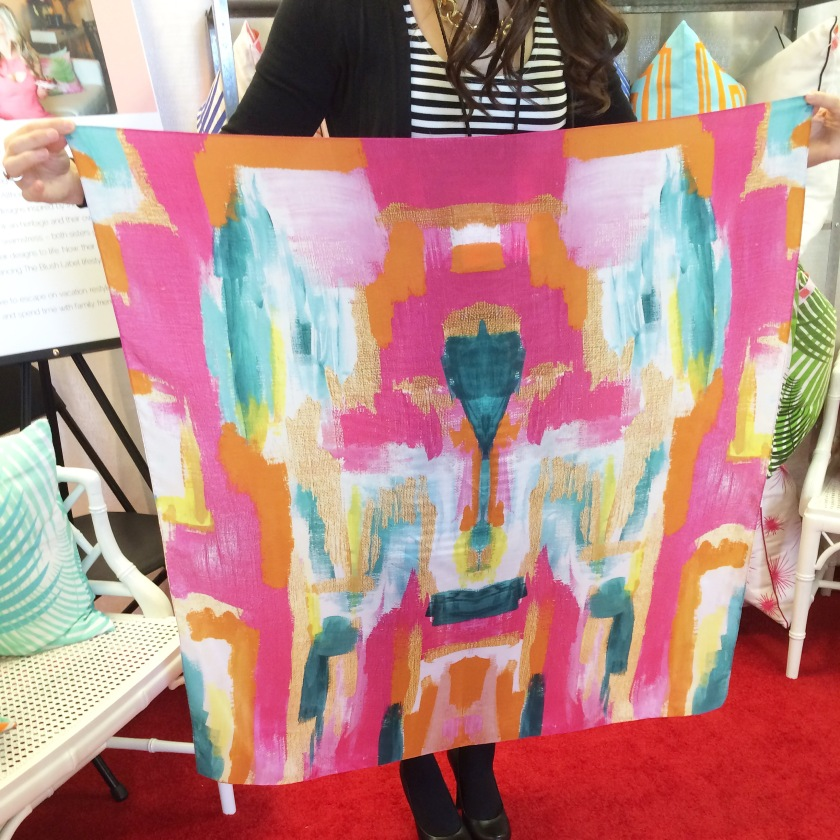 A full shot of our Bombay Scarf--another big hit!